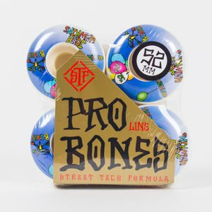 BONES KOŁA SKATEPARK CLEAR NATURAL 54MM 4PK P5