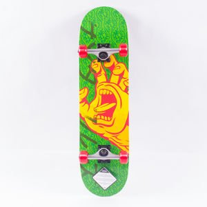 FISH SKATEBOARDS WOOD FISH CACTUS/SILVER/GREEN