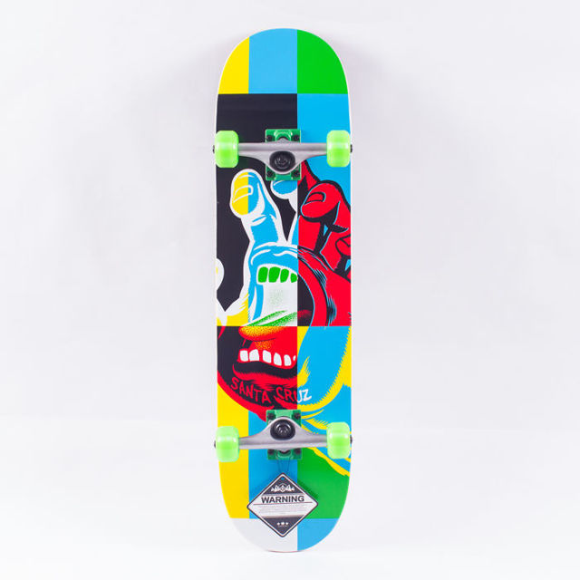 FISH SKATEBOARDS WOOD FISH RED FOX/SILVER/GREEN
