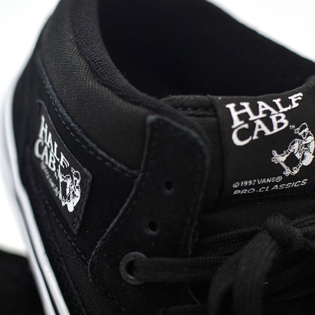 VANS BUTY HALF CAB PRO BLACK/WHITE/RED