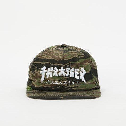 Czapka z daszkiem Thrasher Godzilla tiger camo