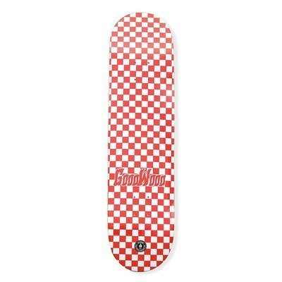DESKA GOODWOOD CHECKER RED AND WHT 7.75