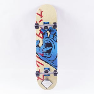 FISH SKATEBOARDS WOOD FISH WHT LOGO/WHT/WHT