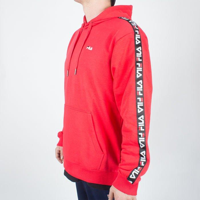 najlepsza strona internetowa szczegóły dla nowy koncept Bluza Fila David Taped Hoody True Red