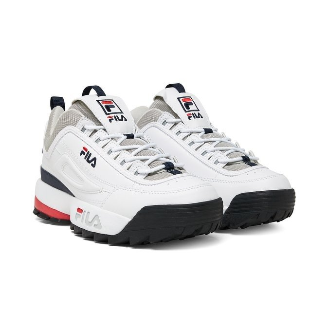 bardzo popularny obuwie wyglądają dobrze wyprzedaż buty Buty męskie Fila Disruptor CB Low (1010707.1FG)