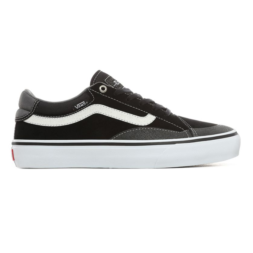 Buty męskie Vans TNT Advanced Pro black white (VN0A3TXY28)
