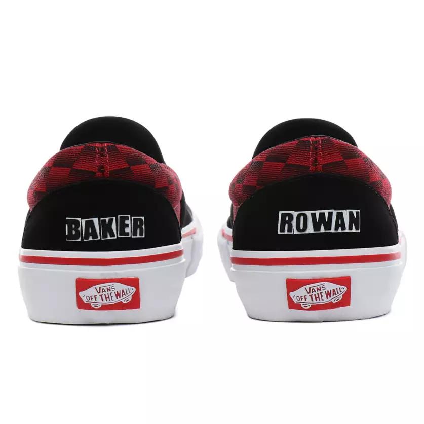 Vans X Baker Slip On Pro Shoes RowanSpeed Check