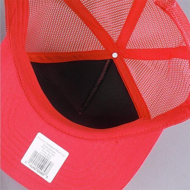7378819b8b5 Czapka THRASHER Skategoat Mesh Cap Red White