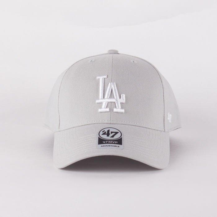 Czapka Z Daszkiem 47 Brand Mlb Los Angeles Dodgers Mvp Steel Grey
