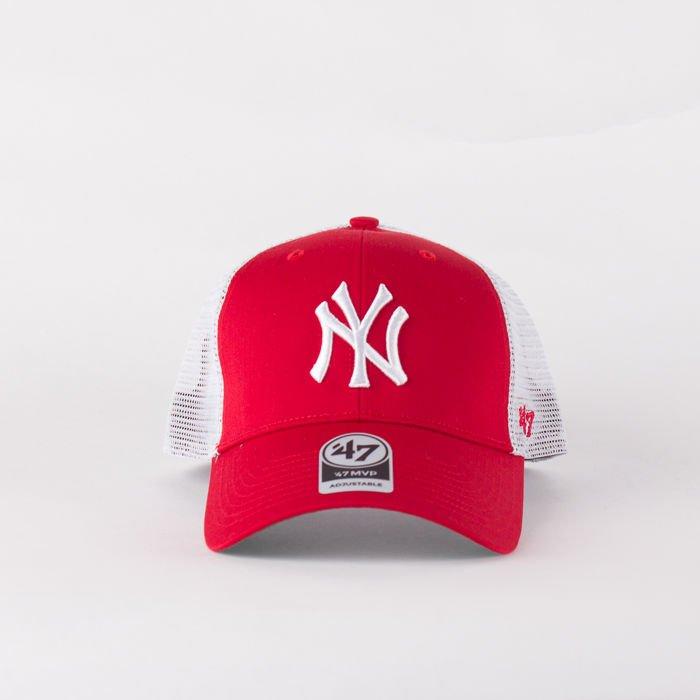 b70b2edc18afb ... Czapka Z Daszkiem 47 Brand Mlb New York Yankees Branson Mvp Red ...