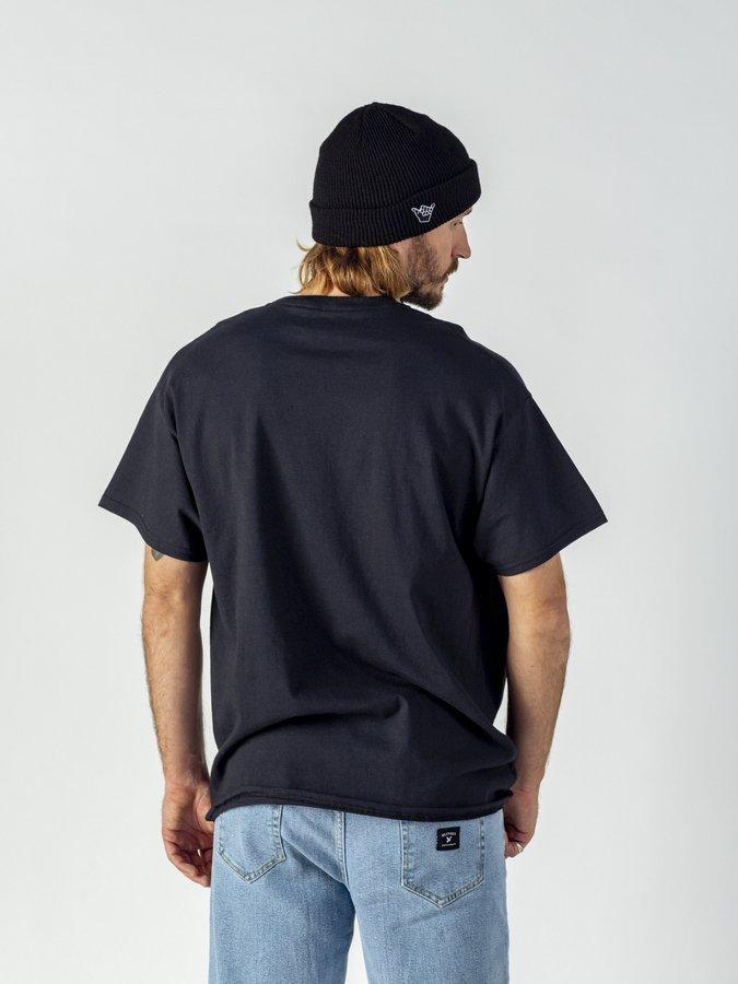 Koszulka męska Thrasher Flame Logo black