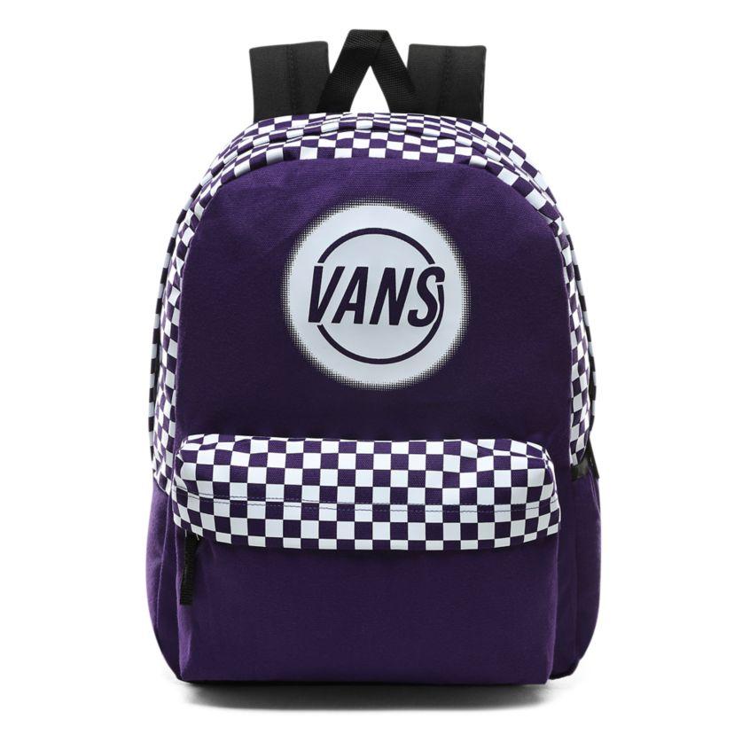 Darmowa dostawa Najnowsza moda gorące wyprzedaże Plecak Vans Taper Off Realm violet indigo (VN0A48GMSF5)