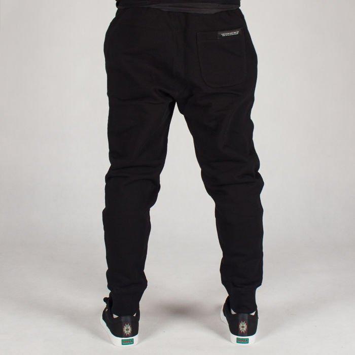 topowe marki konkretna oferta buty sportowe Spodnie Dresowe Elade Ss18 Czarne