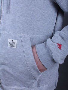 Bluza Emerica Sp15 Burress zip up Grey