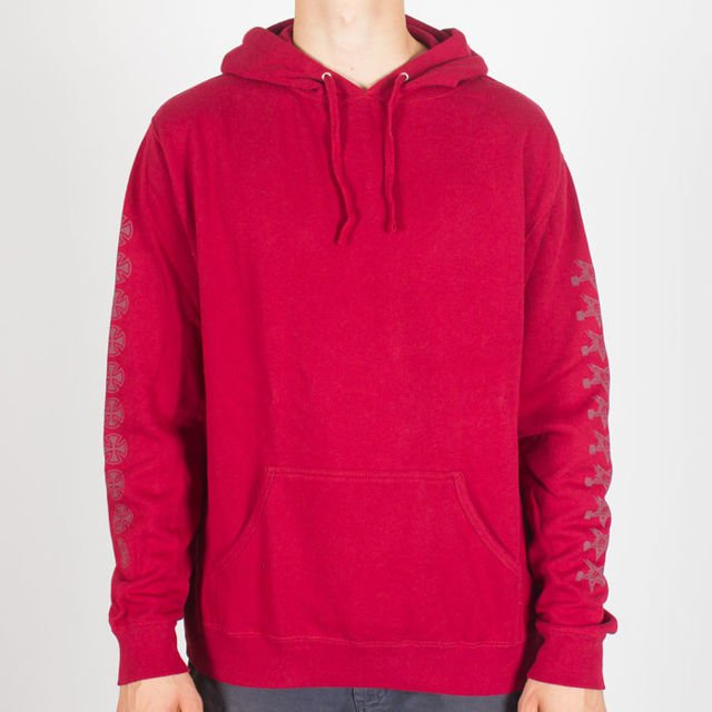 Bluza Independent Hood Thrasher Pentagram Cross D2 Grnt