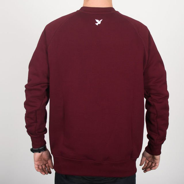 Bluza Nervous Crew Sp18 Lane Maroon