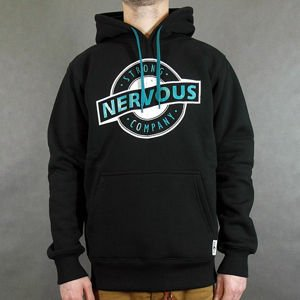 Bluza Nervous Hood Sp13 Label blk