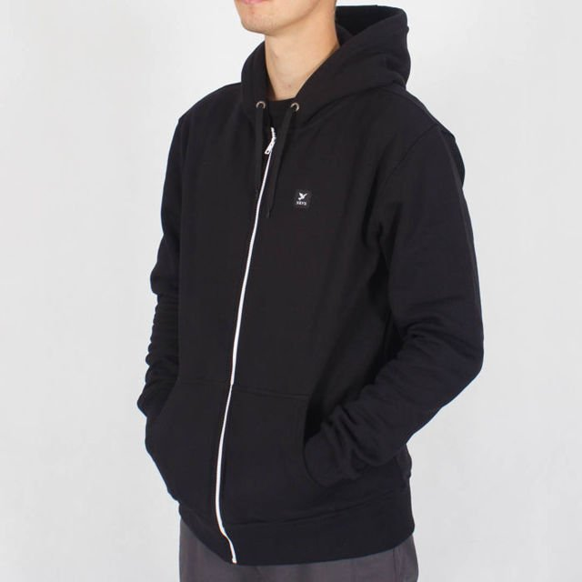 Bluza Nervous Zip Fa18 Icon Blk