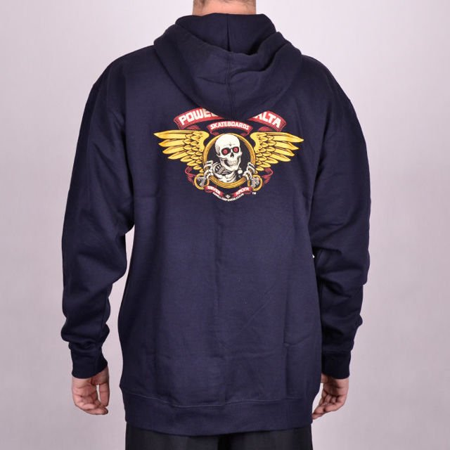 Bluza Powell Hood Winged Ripper Nvy