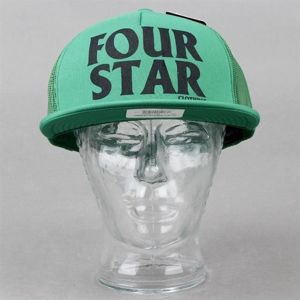 Czapka FOURSTAR Four Hero Foam Mesh Kelly