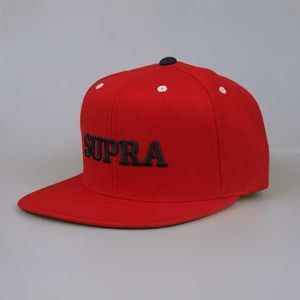 Czapka Supra Sp13 Mark Starter red