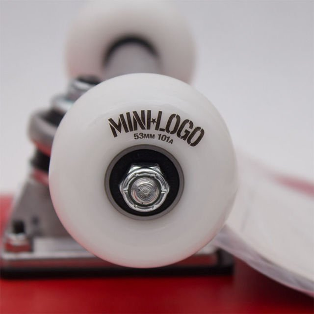 Deska Kpl.Minilogo Birch 13 8.0 K20 Chevron Stamp Red