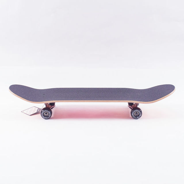 FISH SKATEBOARDS WOOD FISH BLUE FOX/SILVER/TRANSPARENT BLUE