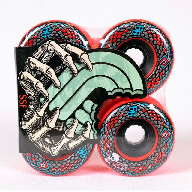 Koła Powell Pp Snakes Red 66mm 4pk