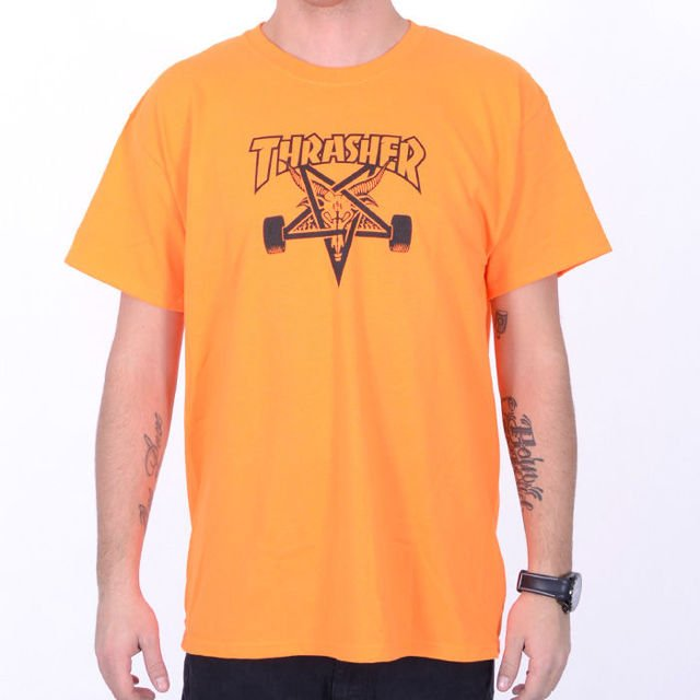 Koszulka Thrasher Skate Goat  Orange