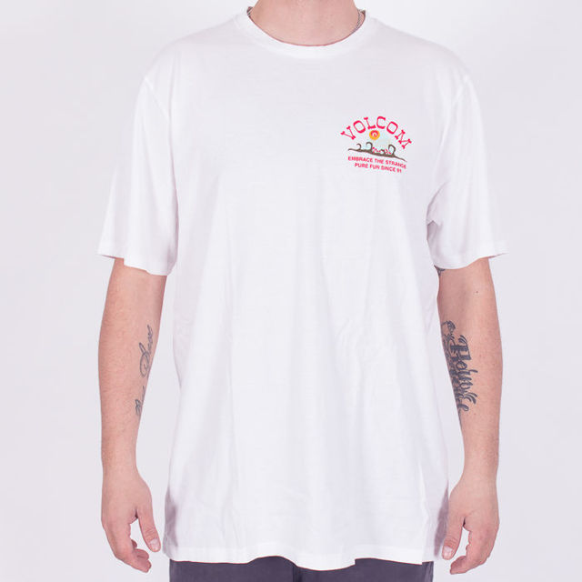 Koszulka Volcom Sp19 Natural fun wht