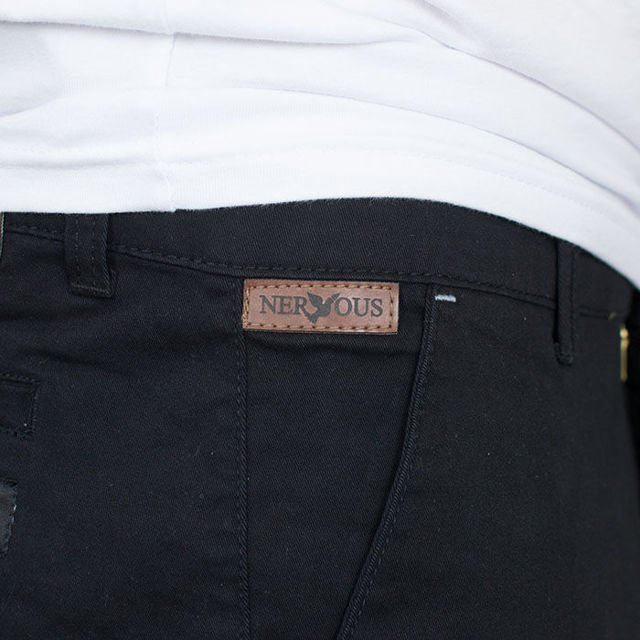 Szorty Nervous SP17 Chino Black