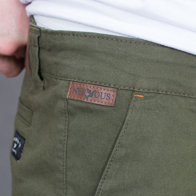 Szorty Nervous SP17 Chino Olive